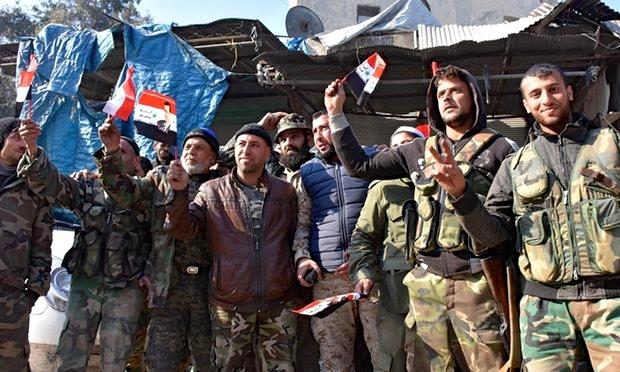 Μαχητές του Αραβικού Συριακού Στρατού νικητές στο Χαλέπι! Φωτό της Δευτέρας του George Ourfalian.