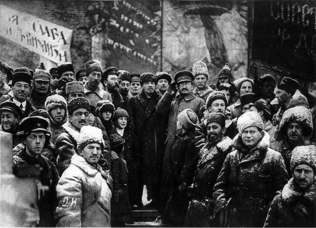 1919 second_anniversary_october_revolution_moscow