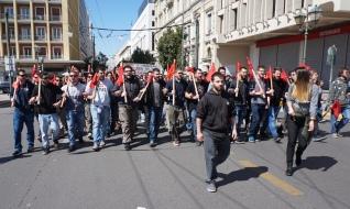 Η νεολαία στην Ελλάδα πρέπει να πρωτοστατήσει στη δημιουργία επαναστατικού μαρξιστικού κόμματος για την ανατροπή του καπιταλισμού. Φωτό Ε.Α.