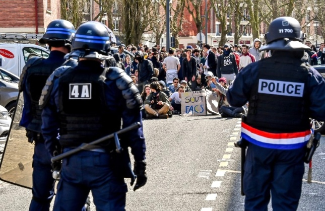 FRANCE-EDUCATION-UNIVERSITY-POLITICS-DEMO