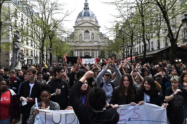 FRANCE-EDUCATION-SOCIAL-PROTEST