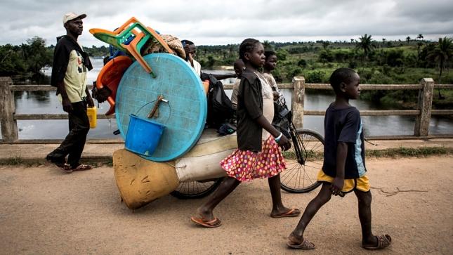 CONGO refugess UHCR John Wessels