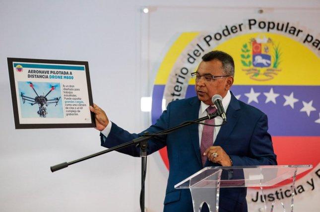 Nestor Reverol Sunday Caracas Interior & Justice Minister