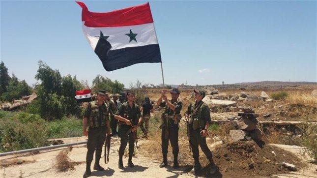 SANA July 2018 southern Syria